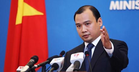 Việt Nam yêu cầu Đài Loan (Trung Quốc) không tái diễn các hành động xâm phạm chủ quyền