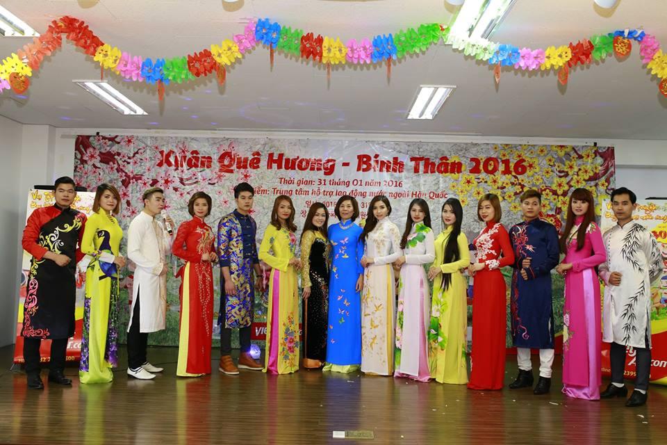 Tôn vinh áo dài Việt Nam trong lễ hội văn hóa châu Á 2016
