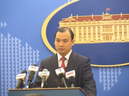 Phản ứng của Việt Nam về việc tàu quân sự Mỹ hoạt động ở khu vực lân cận quần đảo Hoàng Sa