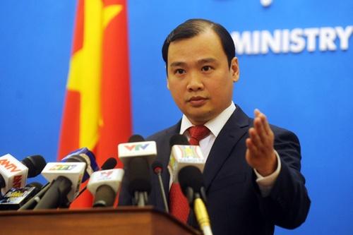 Việt Nam kiên quyết phản đối và bác bỏ lệnh cấm đánh bắt cá vô giá trị ở Biển Đông