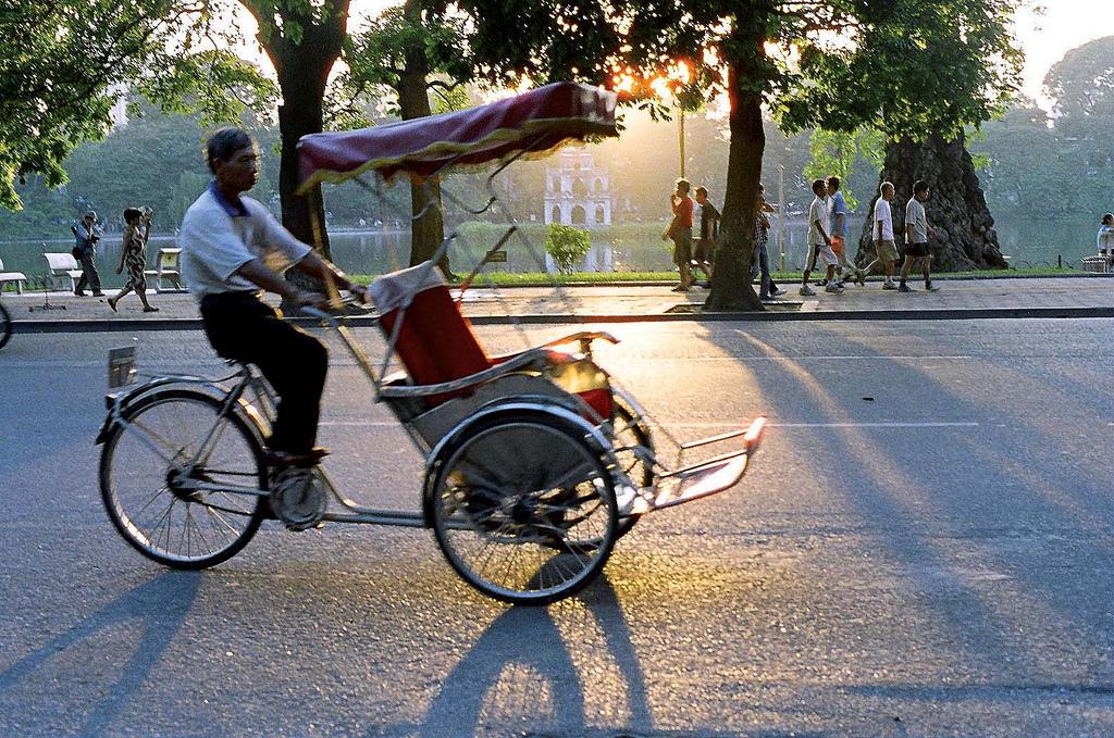 Le cyclo-pousse au Vietnam