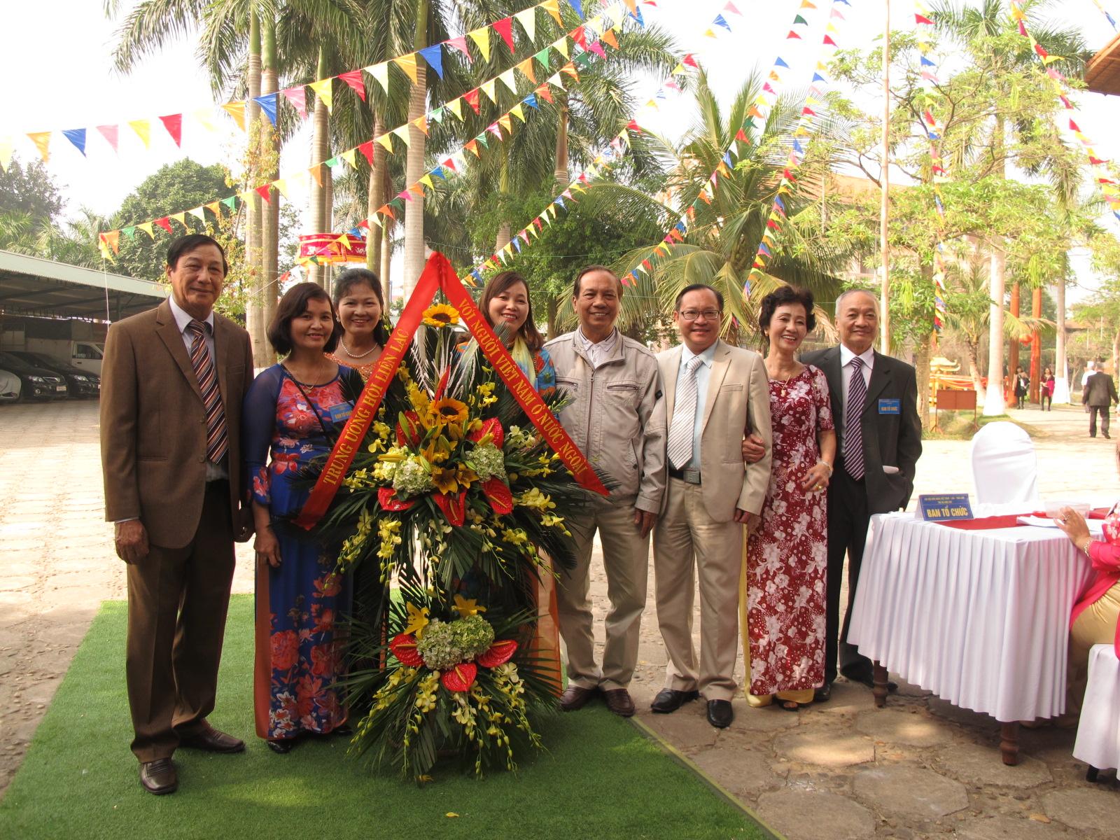 Cựu kiều bào Lào và Thái Lan gặp mặt đầu xuân
