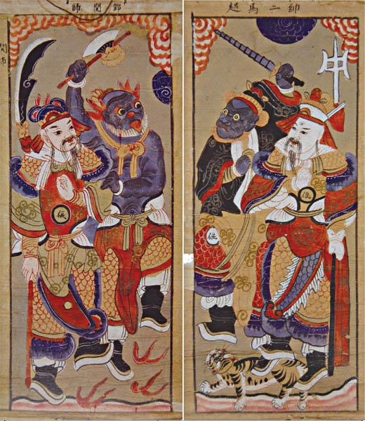 Worship paintings of Vietnam's northern ethnic groups