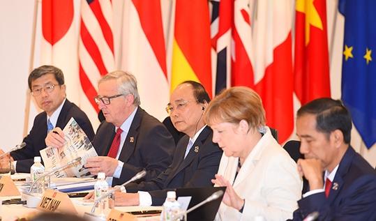 フック首相、G7首脳会議で演説