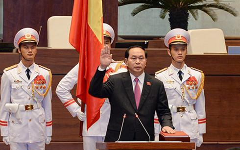 国会 チャン・ダイ・クアン氏を国家主席に