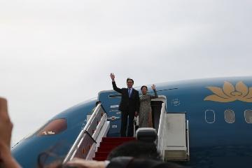 クアン主席夫妻、ブルネイ国賓訪問