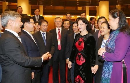 国会議長 北部各省の人民評議会会議に出席