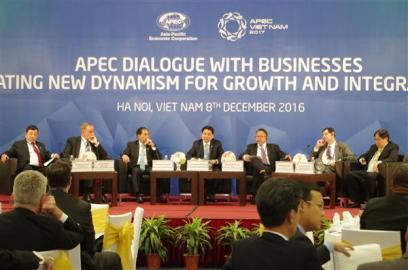 APEC企業対話 成長と結合の新しい原動力を