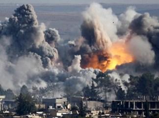 シリア南部でテロ11人死亡