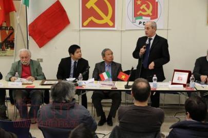 イタリア共産党、ベトナム革命に関するシンポジウムを開催