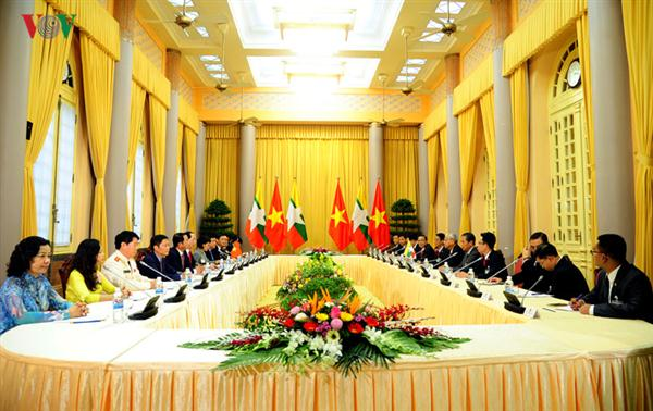 Vietnam, Myanmar pledge to deepen cooperation in investment and trade