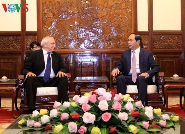 President calls for hi-tech cooperation between Vietnam and Israel