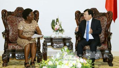 ズン副首相、WBの副総裁と会見