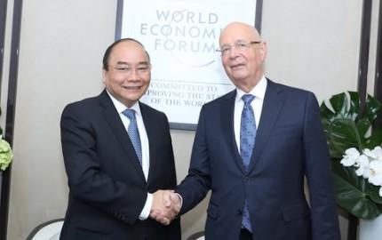 フック首相率、WEFの第47回総会への出席を終える