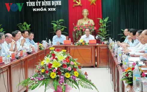 陈大光:平定省要努力成为海洋经济中心