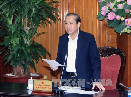 Stab für Verwaltungsreform der Regierung bewertet seine Arbeit 2016