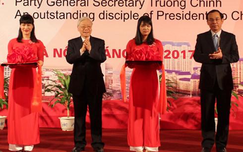 Eröffnungsfeier der Ausstellung über ehemaligen KPV-Generalsekretär Truong Chinh