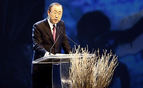 Sekjen PBB mengimbau kepada negara-negara Asia supaya menangani semua sengketa wilayah secara damai