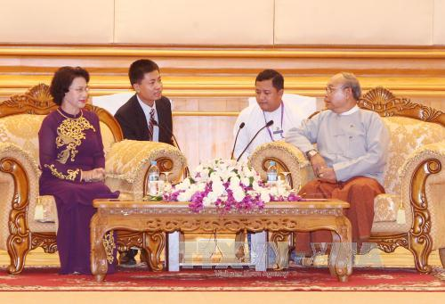 Mendorong kerjasama antara MN Vietnam dan Parlemen Myanmar