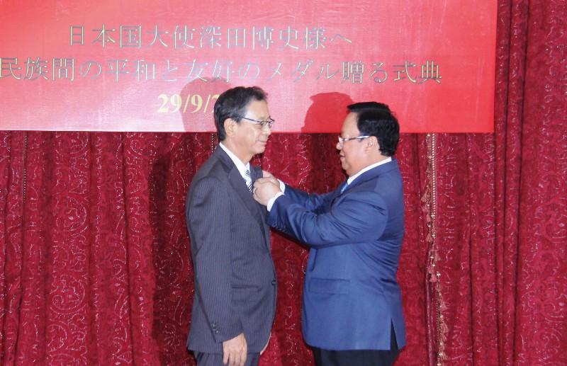 Mendorong hubungan kerjasama dan persahabatan antara dua negara Vietnam-Jepang