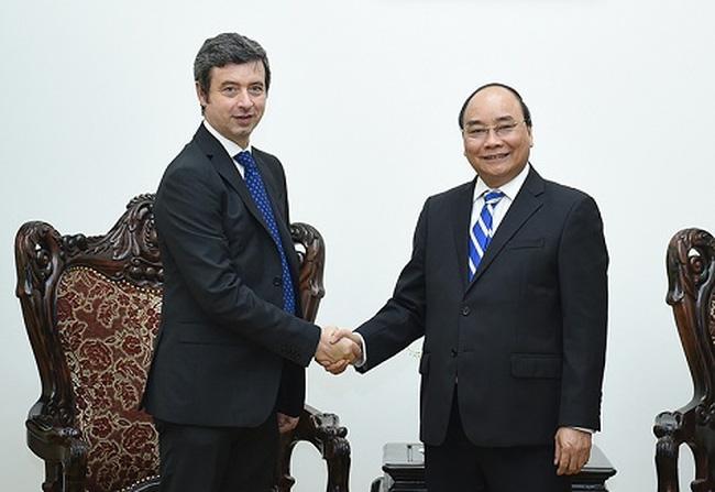 PM Nguyen Xuan Phuc menerima Menteri Hukum Italia