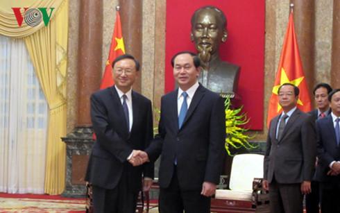 Chủ tịch nước Trần Đại Quang: Cần thực hiện nghiêm túc các thỏa thuận và nhận thức chung cấp cao