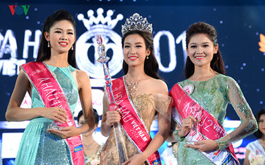 Do My Linh crowned Miss Vietnam