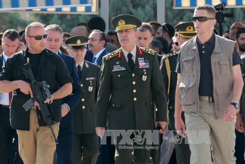 土耳其政变:土耳其最高军事委员会召开紧急会议