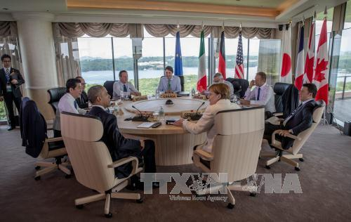 KTT G-7: Para pemimpin berkomitmen akan bekerjasama mendorong ekonomi dan keamanan maritim