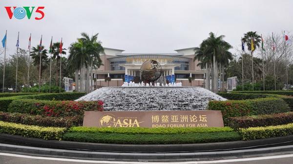 Forum Asia Bo Ao tahun 2017 berakhir, di Hai Nan, Tiongkok