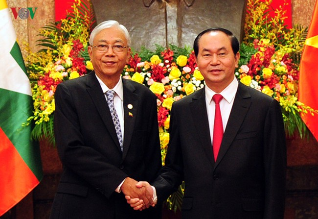Myanmar President concludes visit to Vietnam