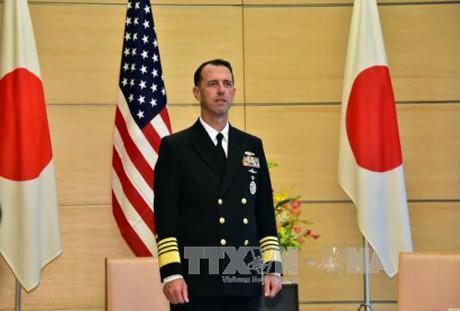 US Navy chief seeks partners in ensuring freedom of navigation in East Sea