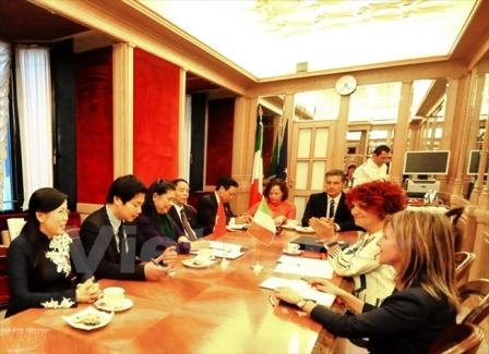 Việt Nam - Italy tăng cường hợp tác Nghị viện hướng tới tương lai