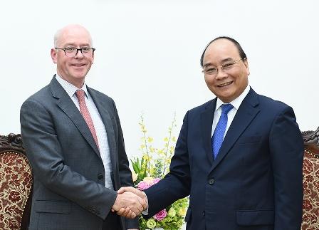 Thủ tướng Nguyễn Xuân Phúc tiếp Trưởng đại diện IMF tại Việt Nam