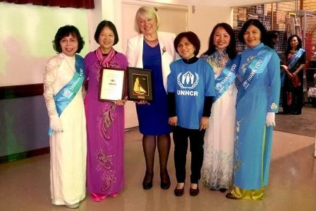 Cộng đồng Việt tại Australia đóng góp 500.000 AUD giúp người tị nạn