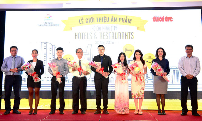 Ra mắt ấn phẩm quảng bá nhà hàng, khách sạn nổi tiếng tại Thành phố Hồ Chí Minh