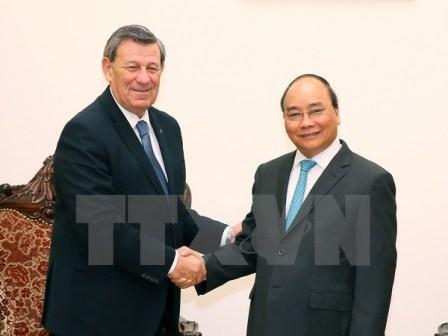 Thủ tướng Nguyễn Xuân Phúc tiếp Bộ trưởng ngoại giao Urugoay