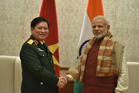 Ấn Độ coi trọng thúc đẩy quan quốc phòng với Việt Nam