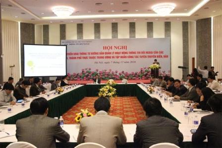 Hoạt động thông tin đối ngoại đẩy mạnh quá trình hội nhập quốc tế