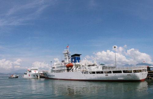 Tàu huấn luyện Nhật Bản thăm hữu nghị Việt Nam