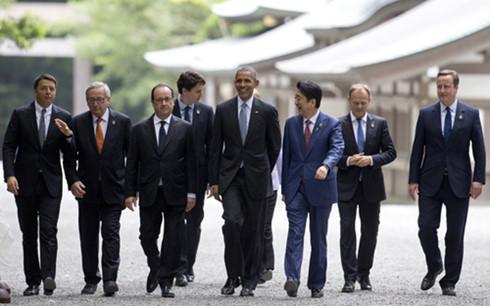 Thủ tướng Nguyễn Xuân Phúc phát biểu tại Hội nghị Thượng đỉnh G7 mở rộng