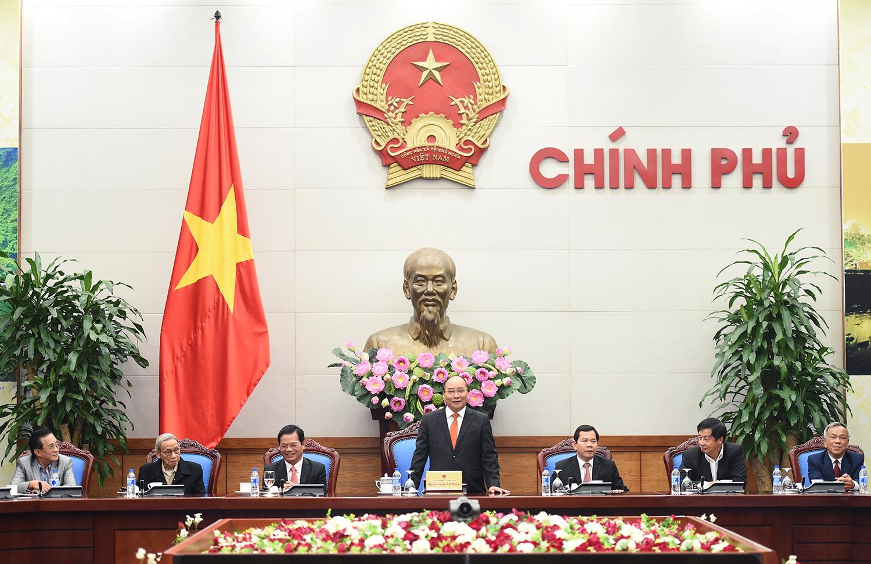 Thủ tướng Nguyễn Xuân Phúc tiếp Đoàn lãnh đạo, nguyên lãnh đạo tỉnh Quảng Ngãi