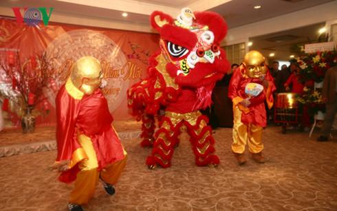 Вьетнамские эмигранты во многих странам организовали предновогодние программы