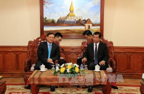 НРПЛ придаёт важное значение особой солидарности с КПВ и вьетнамским народом