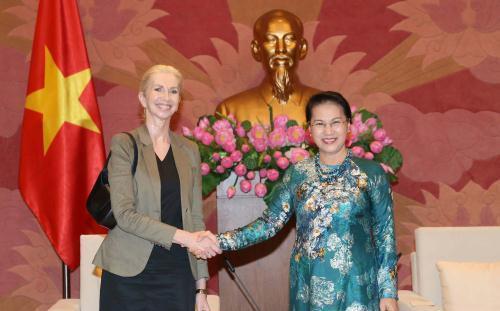 Нгуен Тхи Ким Нган приняла послов Королевства Норвегия и Чешской Республики