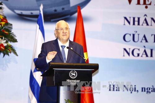 Египетские и израильские СМИ осветили визит президента Израиля во Вьетнам