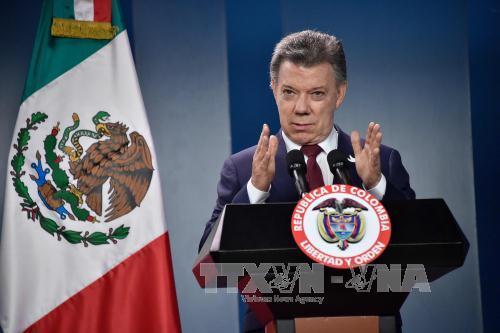 Kolumbiens Präsident Santos will den Opfern des Konflikts Friedensnobelpreis schenken