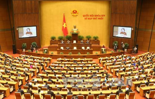 越南第十四届国会第一次会议圆满完成预定目标