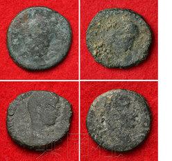 日本考古学家发现古罗马铜币