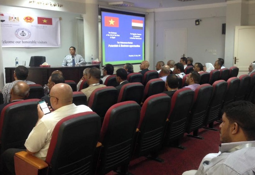 Workshop to promote Vietnam-Egypt business cooperation